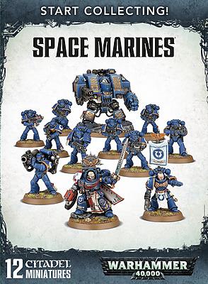 Einfach und sicher online bestellen: Warhammer 40.000: Start Collecting Space Marines in Österreich kaufen.