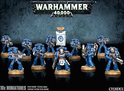 Einfach und sicher online bestellen: Warhammer 40.000: Taktischer Trupp Space Marines in Österreich kaufen.