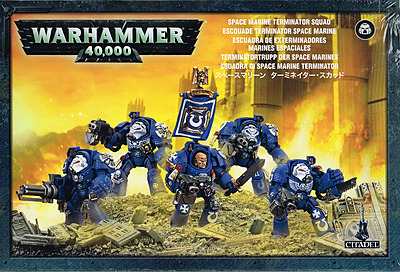 Einfach und sicher online bestellen: Warhammer 40.000: Space Marine Terminator Trupp in Österreich kaufen.