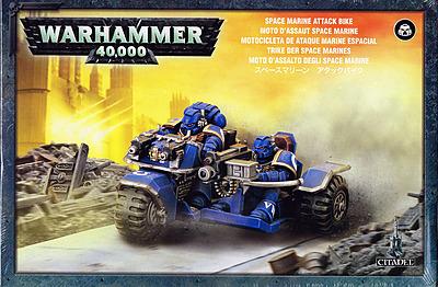 Einfach und sicher online bestellen: Warhammer 40.000: Space Marine Trike MK2 in Österreich kaufen.