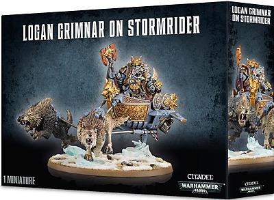 Einfach und sicher online bestellen: Warhammer 40.000: Logan Grimnar on Stormrider in Österreich kaufen.