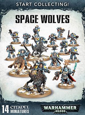 Einfach und sicher online bestellen: Warhammer 40.000: Start Collecting Space Wolves in Österreich kaufen.