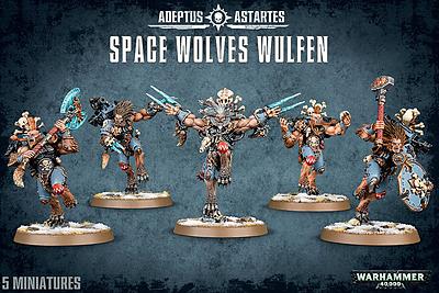 Einfach und sicher online bestellen: Warhammer 40.000: Space Wolves Wulfen in Österreich kaufen.