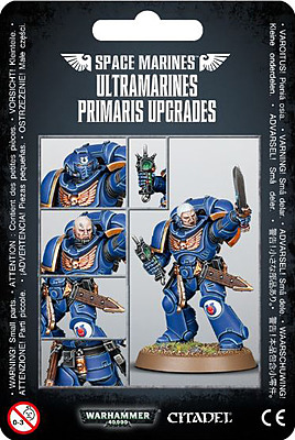 Einfach und sicher online bestellen: Warhammer 40.000: Ultramarine Primaris Upgrades in Österreich kaufen.