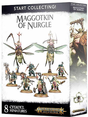 Einfach und sicher online bestellen: Maggotkin of Nurgle Start Collecting! in Österreich kaufen.