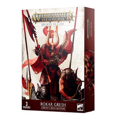 Einfach und sicher online bestellen: Broken Realms: Gresh's Iron Reapers in Österreich kaufen.