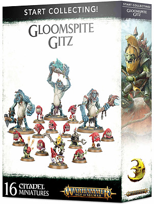 Einfach und sicher online bestellen: Start Collecting! Gloomspite Gitz in Österreich kaufen.
