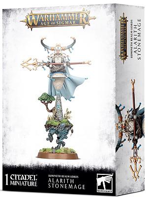 Einfach und sicher online bestellen: Lumineth Realm-Lords: Alarith Stonemage in Österreich kaufen.