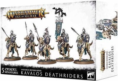 Einfach und sicher online bestellen: Ossiarch Bonereapers: Kavalos Deathriders in Österreich kaufen.