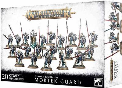 Einfach und sicher online bestellen: Ossiarch Bonereapers: Mortek Guard in Österreich kaufen.