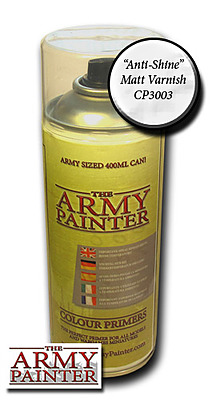 Einfach und sicher online bestellen: Army Painter Matt Varnish Spray in Österreich kaufen.