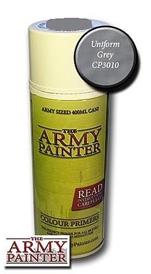 Einfach und sicher online bestellen: Army Painter Primer: Uniform Grey Spray in Österreich kaufen.