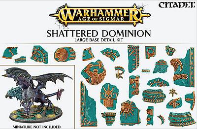 Einfach und sicher online bestellen: Shattered Dominion: Large Base Detail Kit in Österreich kaufen.