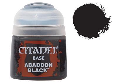 Einfach und sicher online bestellen: Citadel Base: Abbadon Black 12 ml in Österreich kaufen.