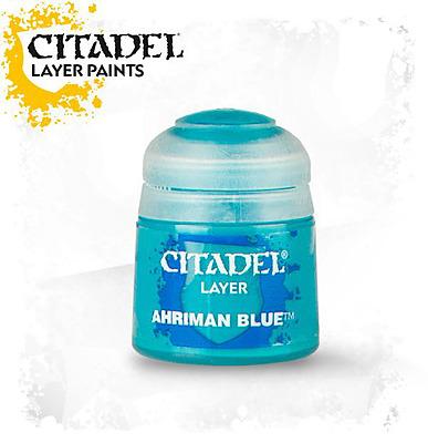 Einfach und sicher online bestellen: Citadel Layer: Ahriman Blue 12 ml in Österreich kaufen.