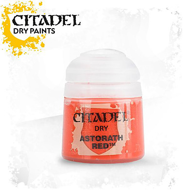 Einfach und sicher online bestellen: Citadel Dry: Astorath Red 12 ml in Österreich kaufen.