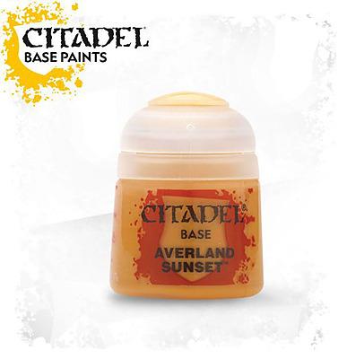Einfach und sicher online bestellen: Citadel Base: Averland Sunset 12 ml in Österreich kaufen.