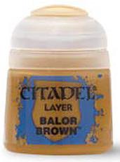 Einfach und sicher online bestellen: Citadel Layer: Balor Brown 12 ml in Österreich kaufen.
