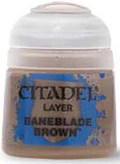 Einfach und sicher online bestellen: Citadel Layer: Baneblade Brown 12 ml in Österreich kaufen.