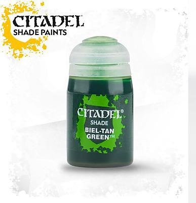 Einfach und sicher online bestellen: Citadel Shade: Biel-Tan Green 24 ml in Österreich kaufen.