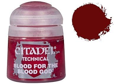 Einfach und sicher online bestellen: Citadel Technical: Blood for the Blood God 12 ml in Österreich kaufen.