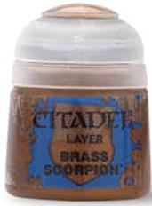 Einfach und sicher online bestellen: Citadel Layer: Brass Scorpion 12 ml in Österreich kaufen.