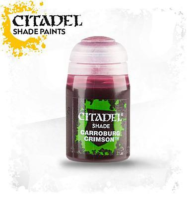 Einfach und sicher online bestellen: Citadel Shade: Carroburg Crimson 24 ml in Österreich kaufen.