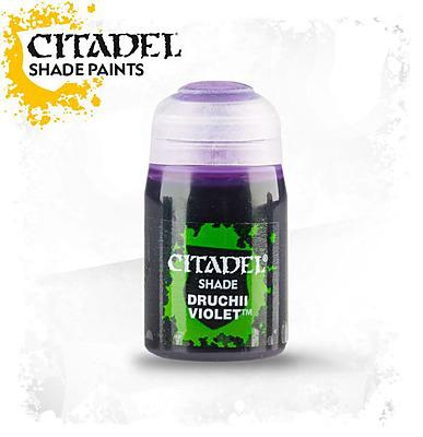 Einfach und sicher online bestellen: Citadel Shade: Druchii Violet 24 ml in Österreich kaufen.