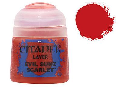 Einfach und sicher online bestellen: Citadel Layer: Evil Sunz Scarlet 12 ml in Österreich kaufen.