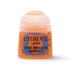 Einfach und sicher online bestellen: Citadel Layer: Fire Dragon Bright 12 ml in Österreich kaufen.