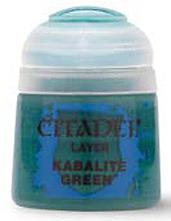 Einfach und sicher online bestellen: Citadel Layer: Kabalite Green 12 ml in Österreich kaufen.