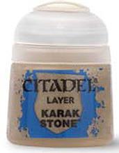 Einfach und sicher online bestellen: Citadel Layer: Karak Stone 12 ml in Österreich kaufen.