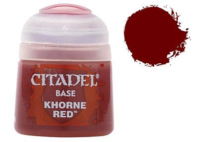 Einfach und sicher online bestellen: Citadel Base: Khorne Red 12 ml in Österreich kaufen.