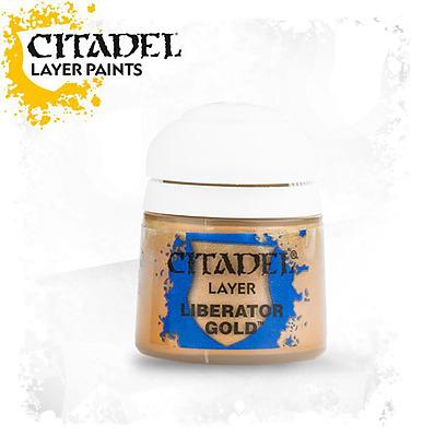 Einfach und sicher online bestellen: Citadel Layer: Liberator Gold 12 ml in Österreich kaufen.