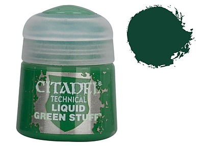 Einfach und sicher online bestellen: Citadel Technical: Liquid Green Stuff 12 ml in Österreich kaufen.