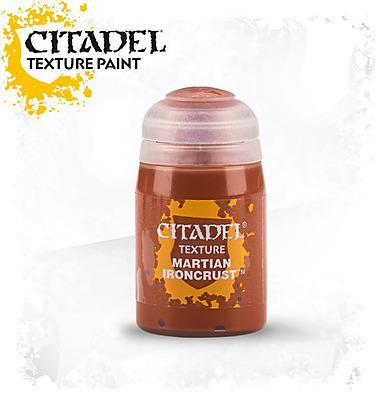 Einfach und sicher online bestellen: Citadel Texture: Martian Ironcrust 24 ml in Österreich kaufen.