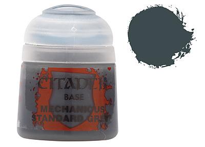 Einfach und sicher online bestellen: Citadel Base: Mechanicus Standard Grey 12 ml in Österreich kaufen.