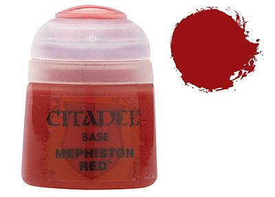 Einfach und sicher online bestellen: Citadel Base: Mephiston Red 12 ml in Österreich kaufen.