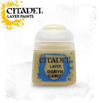 Einfach und sicher online bestellen: Citadel Layer: Ogryn Camo 12 ml in Österreich kaufen.