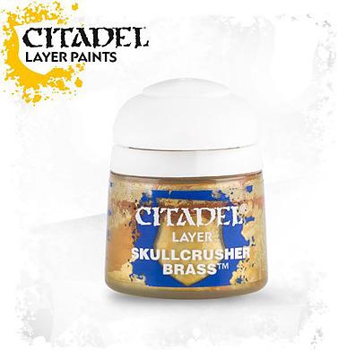 Einfach und sicher online bestellen: Citadel Layer: Skullcrusher Brass 12 ml in Österreich kaufen.