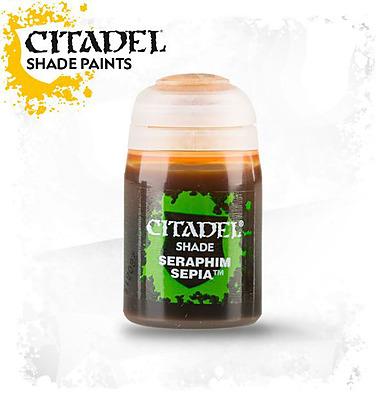 Einfach und sicher online bestellen: Citadel Shade: Seraphim Sepia 24 ml in Österreich kaufen.