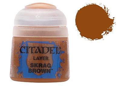 Einfach und sicher online bestellen: Citadel Layer: Skrag Brown 12 ml in Österreich kaufen.