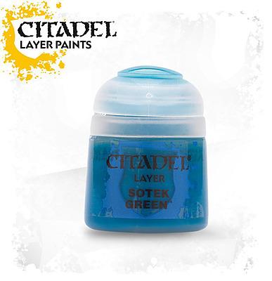 Einfach und sicher online bestellen: Citadel Layer: Sotek Green 12 ml in Österreich kaufen.