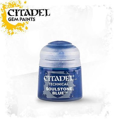 Einfach und sicher online bestellen: Citadel Technical: Soulstone Blue 12 ml in Österreich kaufen.