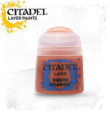 Einfach und sicher online bestellen: Citadel Layer: Squig Orange 12 ml in Österreich kaufen.