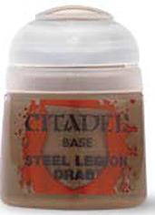Einfach und sicher online bestellen: Citadel Base: Steel Legion Drab 12 ml in Österreich kaufen.