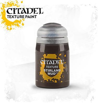 Einfach und sicher online bestellen: Citadel Texture: Stirland Mud 24 ml in Österreich kaufen.