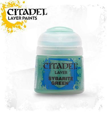 Einfach und sicher online bestellen: Citadel Layer: Sybarite Green 12 ml in Österreich kaufen.