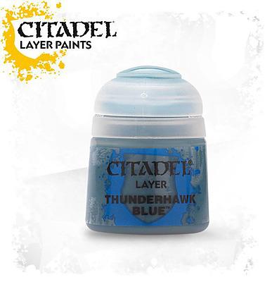 Einfach und sicher online bestellen: Citadel Layer: Thunderhawk Blue  12 ml in Österreich kaufen.
