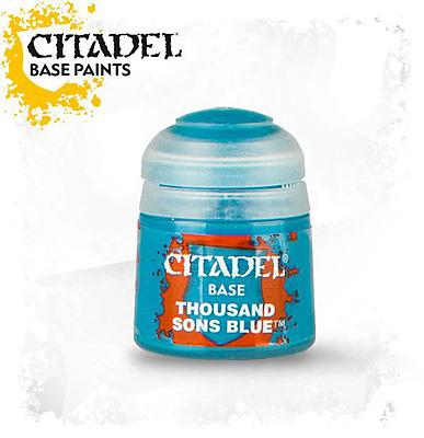 Einfach und sicher online bestellen: Citadel Base: Thousand Sons Blue 12 ml in Österreich kaufen.